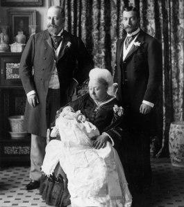 Edward VIII Christening image