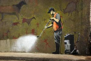 Banksy's 'Cave Painting'