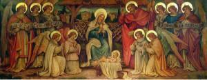 Nativity by Francis Ashton Jackson (1868-1946)