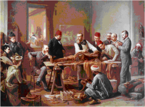 Dulux paints from history: Mummy Brown