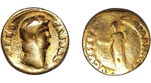 vindolanda gold coin